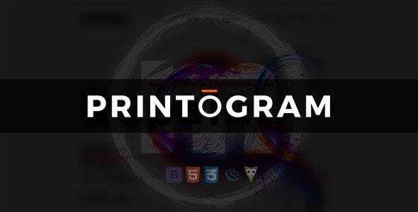 Printogram — HTML Template - Business Corporate