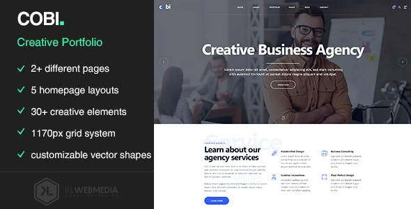 Cobi - Creative Portfolio HTML5 Template