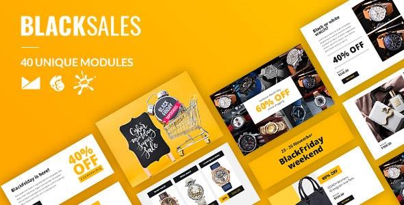 BlackSales Email-Template + Online Builder - Catalogs Email Templates