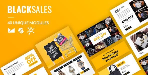 BlackSales Email-Template + Online Builder