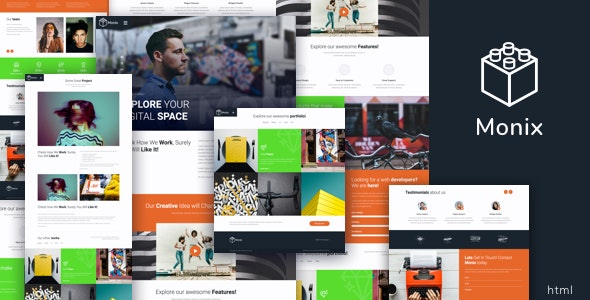 Monix - Creative HTML Template - Creative Site Templates