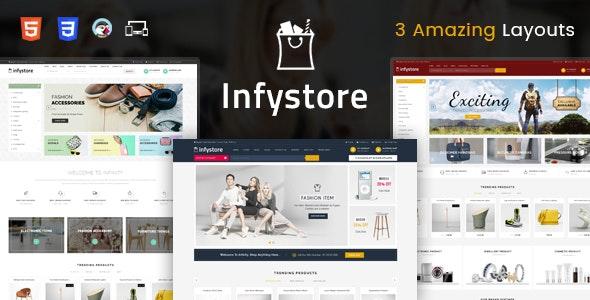 Infystore - Responsive Prestashop 1.7 Theme - Technology PrestaShop
