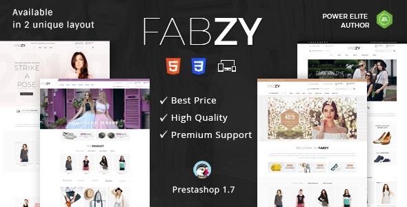 Fabzy - Responsive Prestashop 1.7 Theme - Shopping PrestaShop