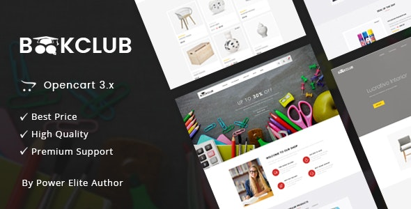 Book Club - Multipurpose OpenCart 3 Theme - Miscellaneous OpenCart