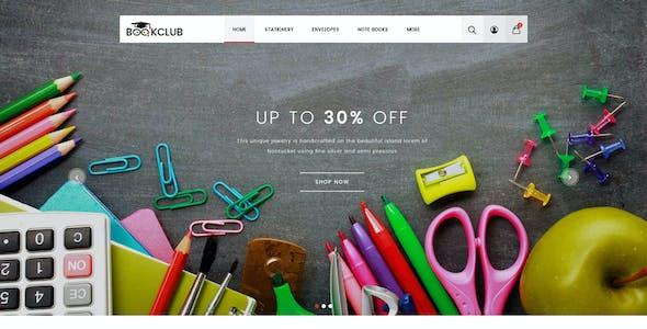 Book Club - Multipurpose OpenCart 3 Theme