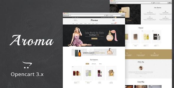 Aroma - The Perfume OpenCart Theme - Shopping OpenCart