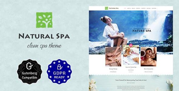 Nature Spa   Beauty Spa, Massage Spa Theme