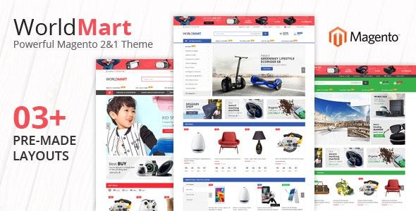 Worldmart - Multipurpose Magento 2 Theme - Magento eCommerce