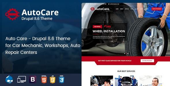 Auto Care – Car Mechanic Drupal Theme