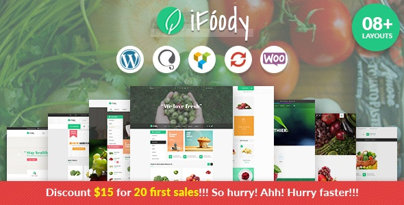 VG iFoody - Responsive WooCommerce WordPress Theme - WooCommerce eCommerce