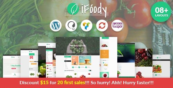 VG iFoody - Responsive WooCommerce WordPress Theme