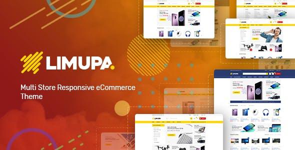 Limupa - Digital, Electronics & Technology Shopify Theme
