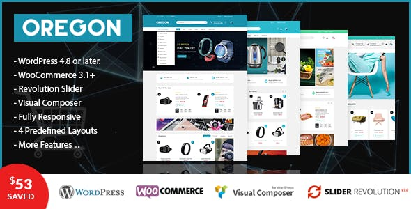 VG Oregon - Responsive WooCommerce WordPress Theme