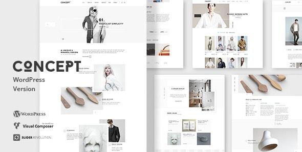 Concept - Design-Driven Multipurpose WordPress Theme - Portfolio Creative