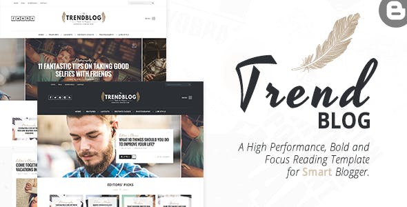 Download TrendBlog - Creative, Vintage & Elegant Blogging Theme