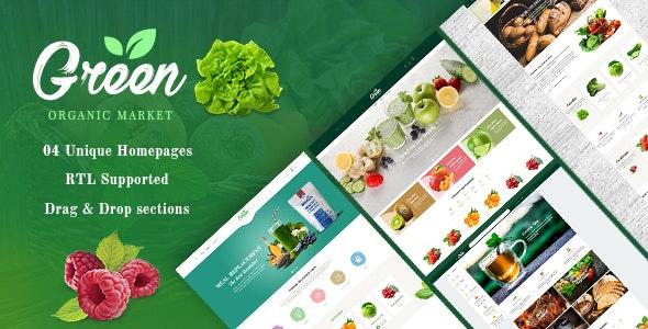 GreenLife - Responsive Shopify Theme, Organic, Fresh Food, Farm Store - Health & Beauty Shopify