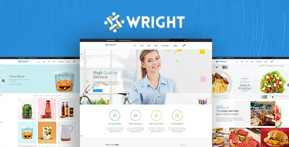 Wright - MultiPurpose HTML5 Template - Business Corporate