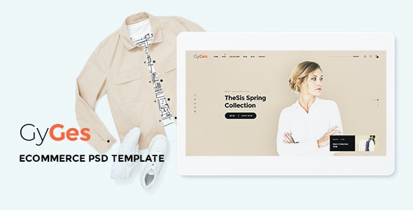 Gyges - Multipurpose Ecommerce PSD Template - Photoshop UI Templates