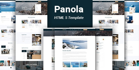 Panola : Resort and Hotel HTML Template - Travel Retail