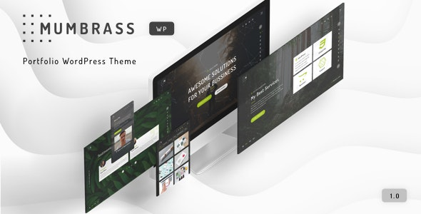 Mumbrass - Full Screen Personal Portfolio WordPress Theme - Portfolio Creative