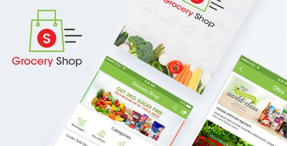 Grocery Shop - Retail Photoshop