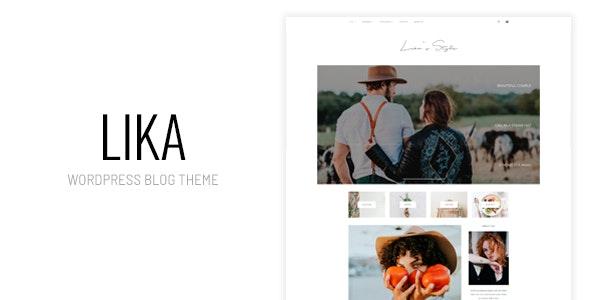 Lika's Style - Personal WordPress Blog Theme - Personal Blog / Magazine