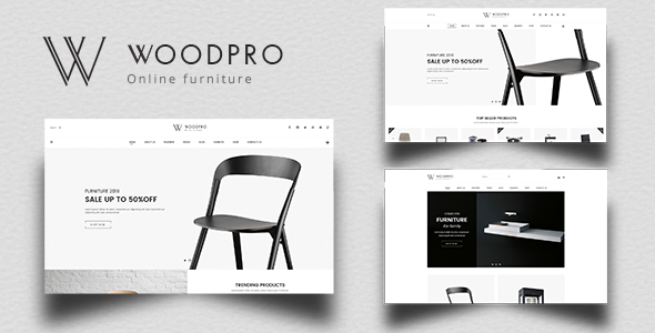 WoodPro - Modern Furniture & Interior Decor PrestaShop 1.7 Theme - Shopping PrestaShop