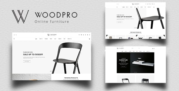 WoodPro - Modern Furniture & Interior Decor PrestaShop 1.7 Theme