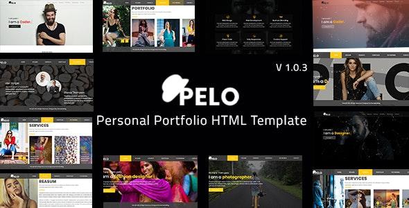 Pelo - Personal Portfolio HTML Template - Portfolio Creative
