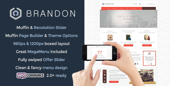 Brandon – Responsive Multi-Purpose WordPress Theme