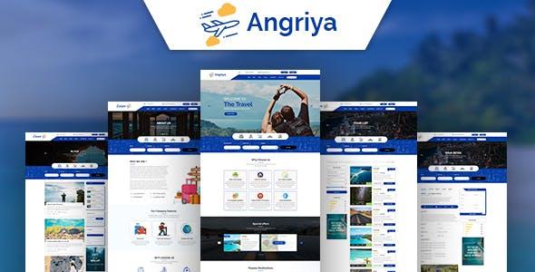 Angriya -  PSD Template for Travel Agent