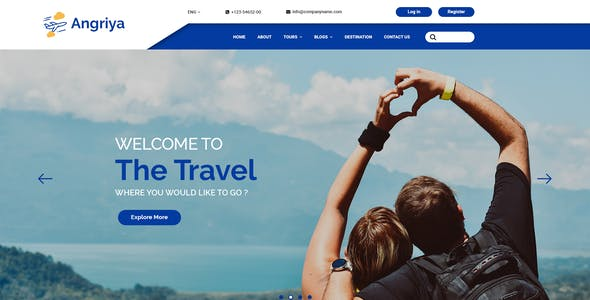 Travel Agency Website >> Travel Agent Website Templates From Themeforest