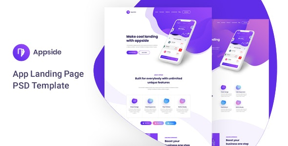Appside - App Landing Page - Software Technology