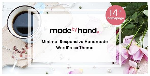 MadebyHand - Minimal Handmade eCommerce WordPress Theme - WooCommerce eCommerce