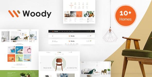 Woody - Furniture WooCommerce WordPress Theme - WooCommerce eCommerce