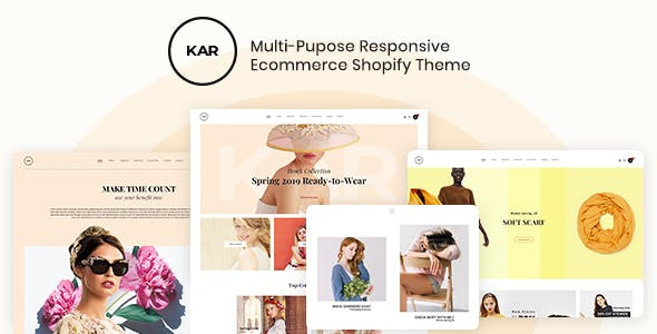 Karic - Multiple and Purpose Creative Shopify Theme