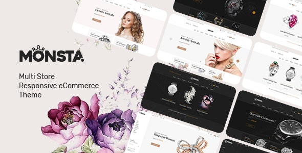 Monsta - Jewelry Theme for WooCommerce WordPress - WooCommerce eCommerce