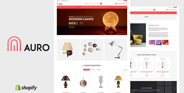 Auro | Lights Shopify Theme by BuddhaThemes | ThemeForest