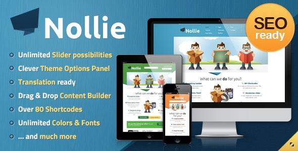 Nollie WordPress Theme - Business Corporate