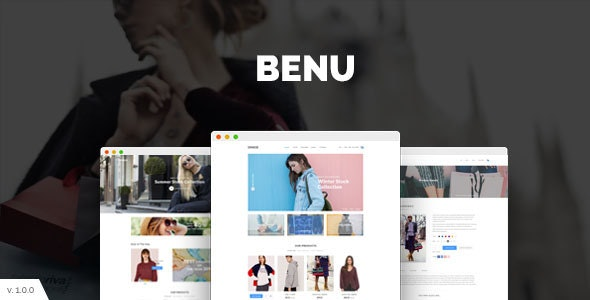 Benu - Modern eCommerce PSD Template - Business Corporate