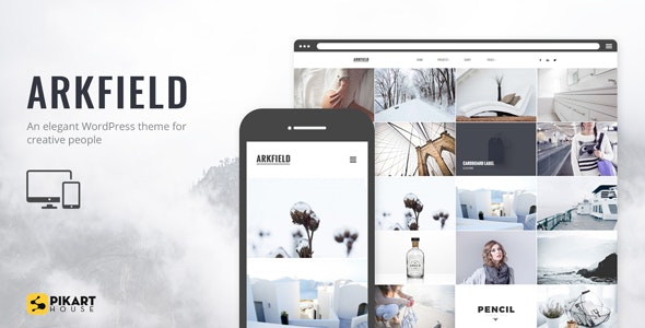 Arkfield - An Elegant Portfolio WordPress Theme - Portfolio Creative