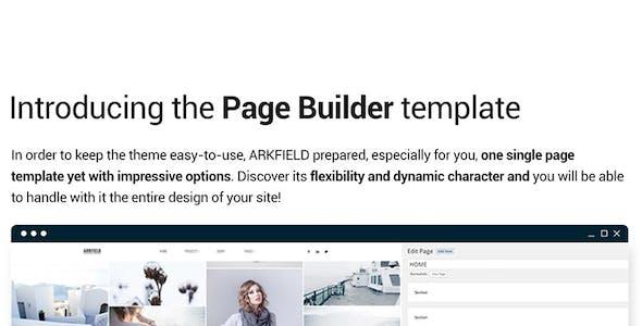 Arkfield - An Elegant Portfolio WordPress Theme