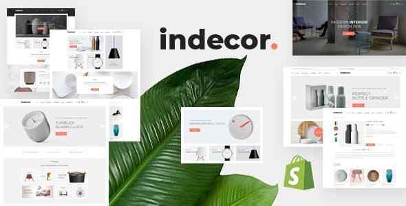 Furniture eCommerce Shopify Theme - Indecor