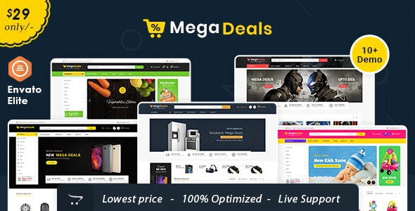 Mega Deals - Opencart Multi-Purpose Responsive Theme - Shopping OpenCart