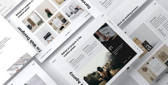 MONT - Creative Agency Portfolio Muse Template - Creative Muse Templates