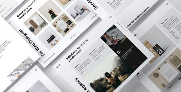 Download MONT - Creative Agency Portfolio Muse Template