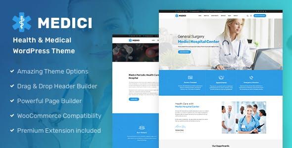 Medici - Health & Medical WordPress Theme