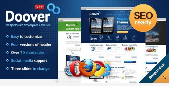 Doover WordPress Theme - Corporate WordPress