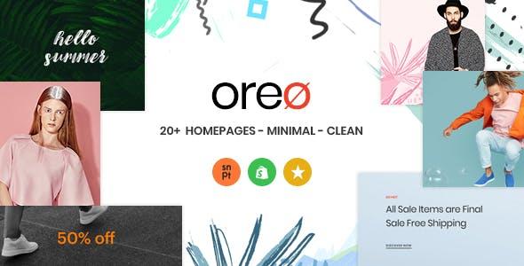 Oreo Minimal Clean Shopify Theme