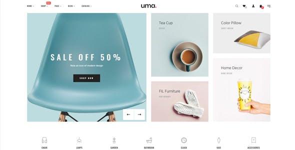Uma Website Templates from ThemeForest
